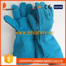 Guantes de soldadura divididos Blue Cow, Ab Grade. Full Palm (DLW621)