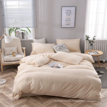 Softness Solid Color Bed Sheet Flat Sheet