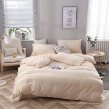 Softness Solid Color Folha plana Folha de cama