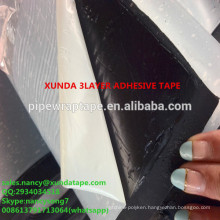 3 ply polyethylene cold applied tape for gas pipe