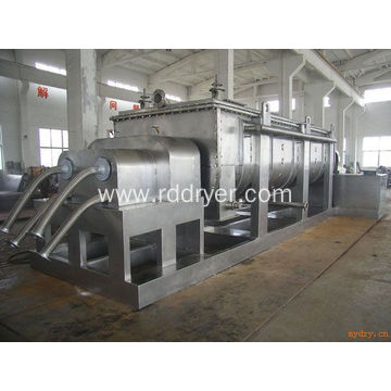 Horizontal sewage sludge drying machine