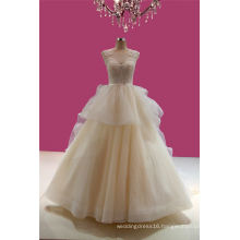 Real Picture New Design Beading Wedding Dress
