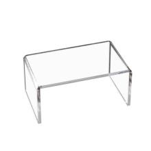 Custom transparent modern perspex clear acrylic bathroom shower counter bar stool