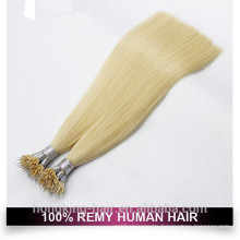 Double Drawn Blonde Color Nano Ring Hair Extension
