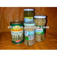Dosenspargel in Dosen / Gemüsekonserven