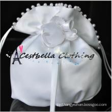 Fashion Lady Satin Rhinestone Bridal Bridesmaid Handbag in Wedding Ceremony Clutch Small Handbag