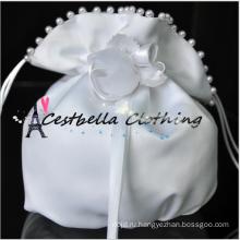 Сумочка мода Леди атласная горный хрусталь для новобрачных невесты на свадебной церемонии небольшая сумочка клатч