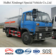 10cbm Dongfeng Euro 4 Petrol Gasoline Oil Tank Truck with Cummins Engine