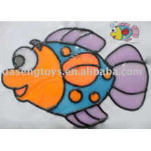 children window art painting toy