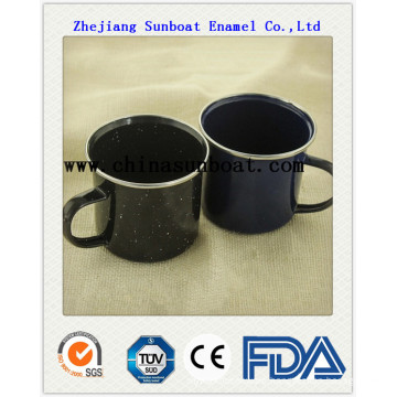 Enamel Glazed Milk Cup