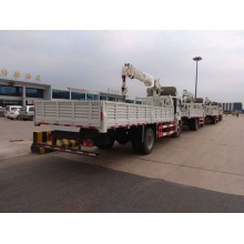Light Duty Truck Mounted Crane 5 Tons Sinotruk