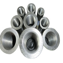 Acoplador de barras de acero caliente de las ventas 45 # para la construcción