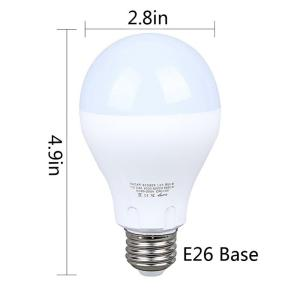 7W E27 Warm White LED Motion Sensor Bulb