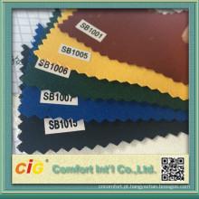 Delicado tecido porta e solidez da cor da tela acrílica impermeável