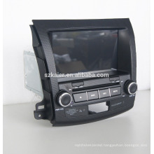 Quad core car dvd player with gps,wifi,BT,mirror link,DVR,SWC for Mitsubishi outlander 2006-2011