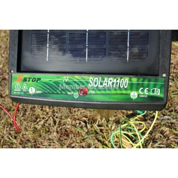 effective solar fence energizer