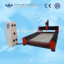 Jinan Pierre cnc routeur la machine de gravure pour marbre granit 1300 * 2500mm avec Rail de guidage du carré linéaire PMI