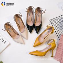 Ladies' favorite 9cm high heels 2017 arrivals women heels shoes