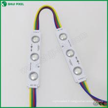 smd 5050 pixels d'étanchéité rgb led module de rétro-éclairage 12v