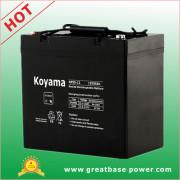 Sealed Storage Battery Inverter Battery AGM Battery UPS Battery 55ah 12V