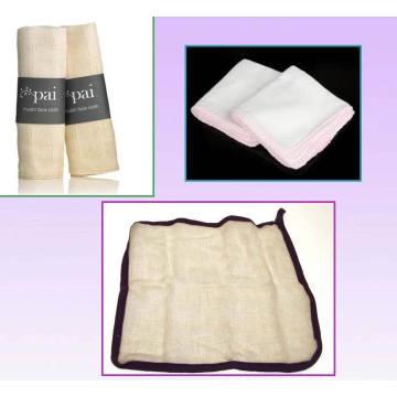 Eco-Содружественная ткань Муслин для лица используются для чистки кожи