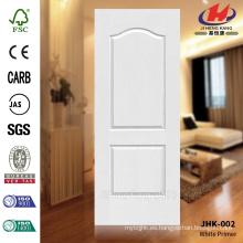 JHK-002 Mountain Grain 2 Panel Modelo de venta caliente de alta calidad puerta exterior de la piel