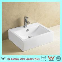 Ovs Hot Sale Design popular Arte do banheiro Ceramic Wash Lavabo