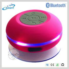 Горячий! Беспроводная Bluetooth Водонепроницаемый спикер светодиодный спикер для душа