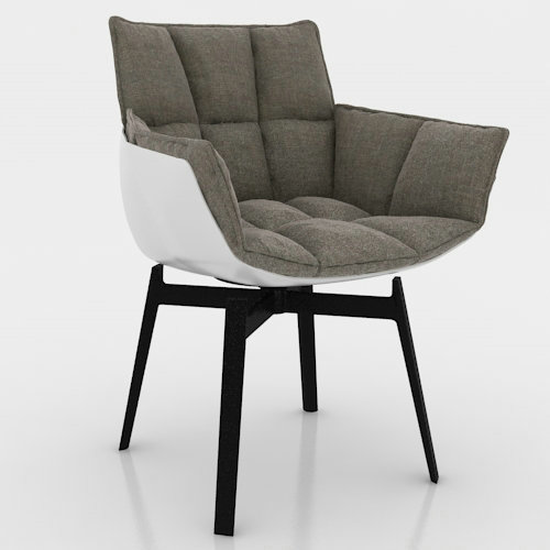 China Replica Modern Husk Chair For Dining Room High