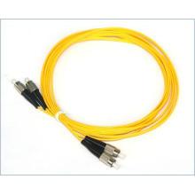 Cabo de conexão de fibra óptica padrão FC-FC