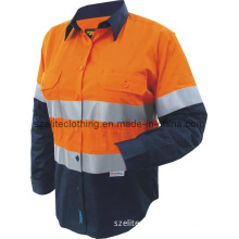 Wholesale Hi Viz Work Wear for Women (ELTHVJ-2)