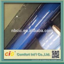 Folha rígida de PVC transparente