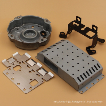 Skilled fabrication metal process custom precision stamping accessories