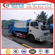 Dongfeng 4X2 10CBM мусороуборочный автомобиль для продажи
