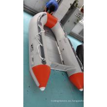 PVC/Hypalon bote inflable con piso de aluminio