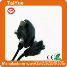 High Quality 3 Pin UK Specification Power Cord