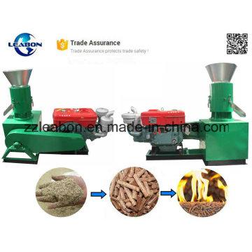 Various Kinds Materials Diesel Wood Pellet Mill