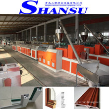 PVC WPC SKARTING BOARD MACHINE / PLASTIC SKARTING BOARD PRODUCTION LINE