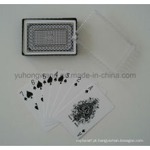 Cartão de jogo, jogo de tabuleiro com caixa de PVC
