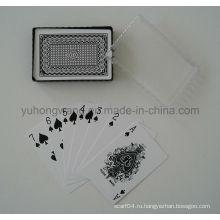 Игральная карточная игра, настольная игра с коробкой из ПВХ