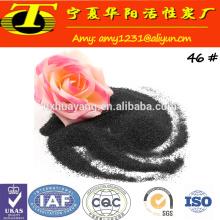 200/325 MESH schwarz geschmolzenes Aluminiumoxid Pulver in China zum Verkauf