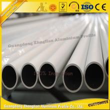 Produits en aluminium anodisés ronds de tube / tuyau de la série 6000