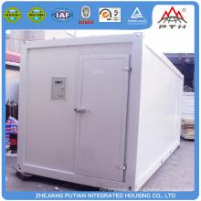 Fácil instalação de modernos recipientes de armazenamento pré-fabricados personalizados
