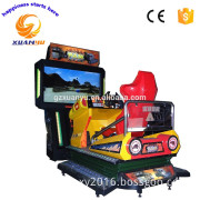 3D Post Apocalyptic Mayhem simulator racing game machine car racing game machine