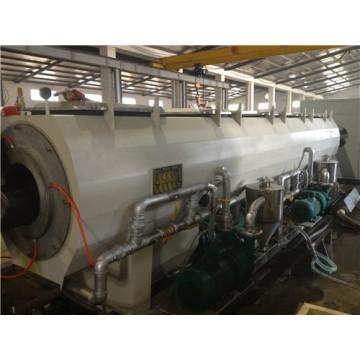 Machine de tuyau de PE de PE / machine d'extrusion de tuyau de HDPE / ligne de tuyau en plastique