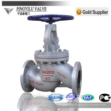 cast steel flange end PN 16-100 stainless steel globe valve manufacturer