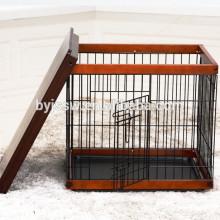 Casa de cachorro em madeira de garantia de comércio 2018, gaiola de cão de madeira para venda feita na China