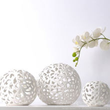 Ceramic Ball Shape Opal Lamp Shade