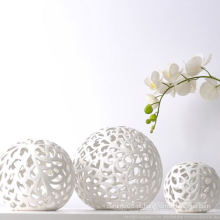 Cerâmica Ball Shape Opal Lamp Shade