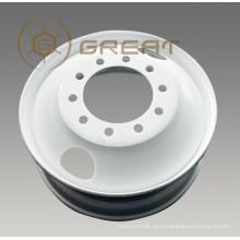 Llantas de ruedas sin cámara tubulares para neumático 7.5R15